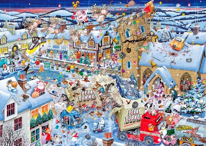 Puzzle Gibsons I Love, La Navidad de 1000 Piezas