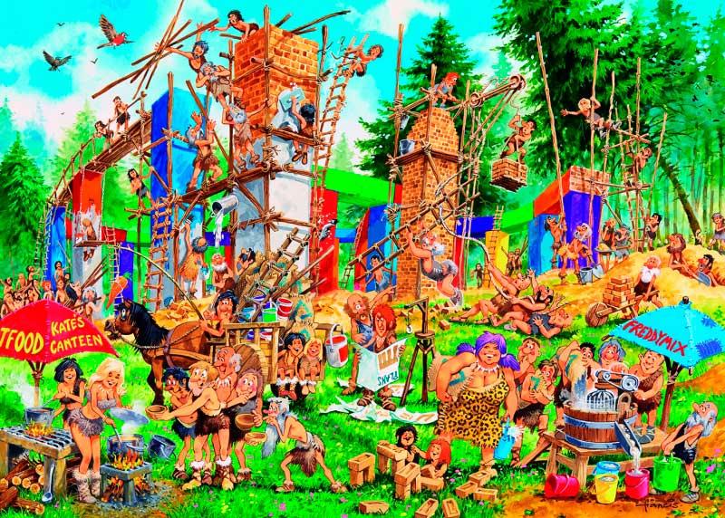 Puzzle Gibsons La Construcción de 1000 Piezas