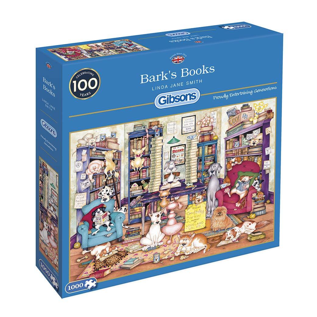 Puzzle Gibsons La Librería de Bark de 1000 Piezas