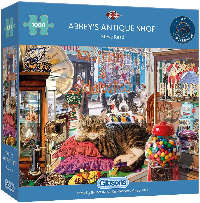 Puzzle Gibsons La Tienda de Antigüedades de Abbey de 1000 Pzs