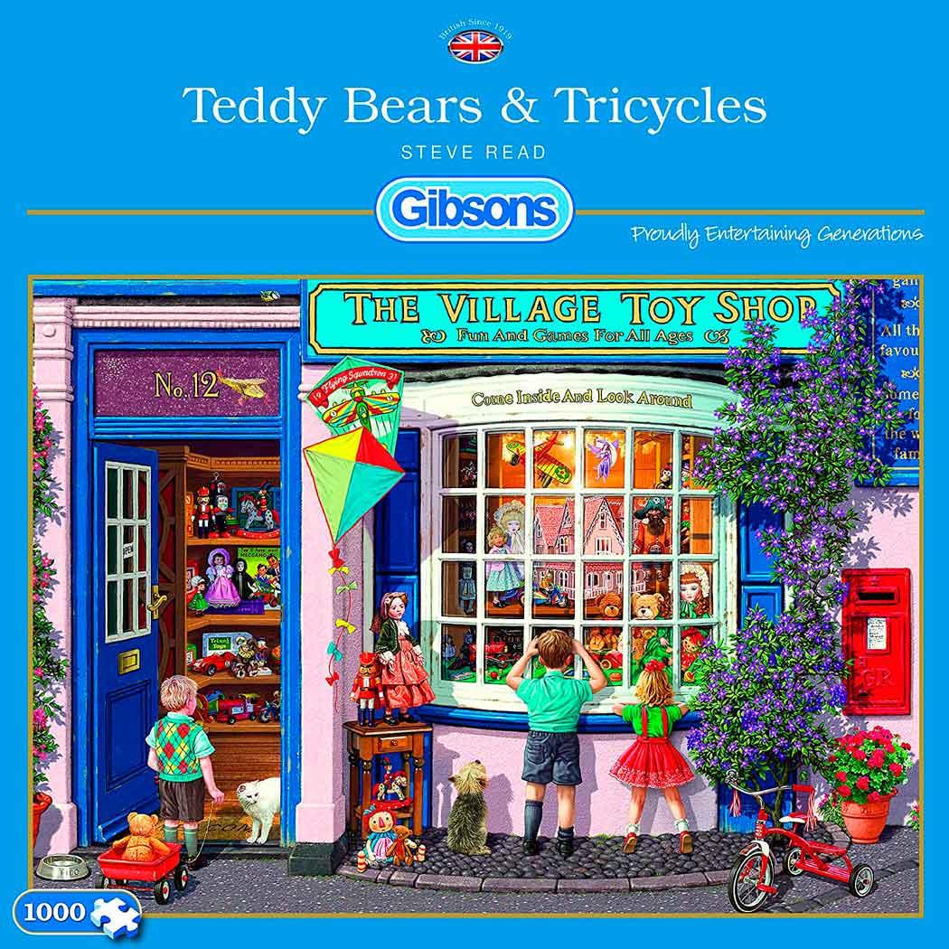 Puzzle Gibsons La Tienda de Juguetes de 1000 Piezas