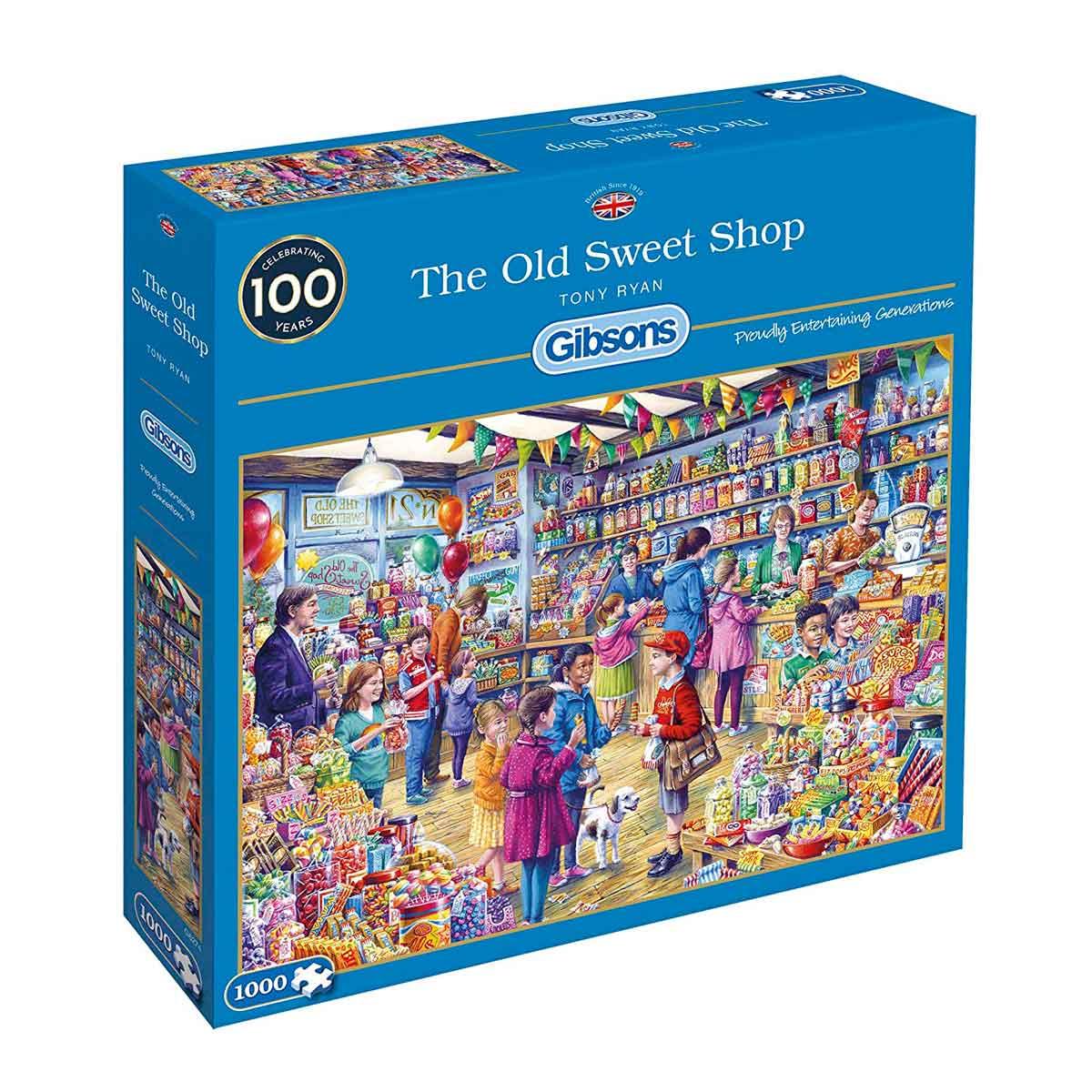 Puzzle Gibsons La Vieja Tienda de Golosinas de 1000 Pzs