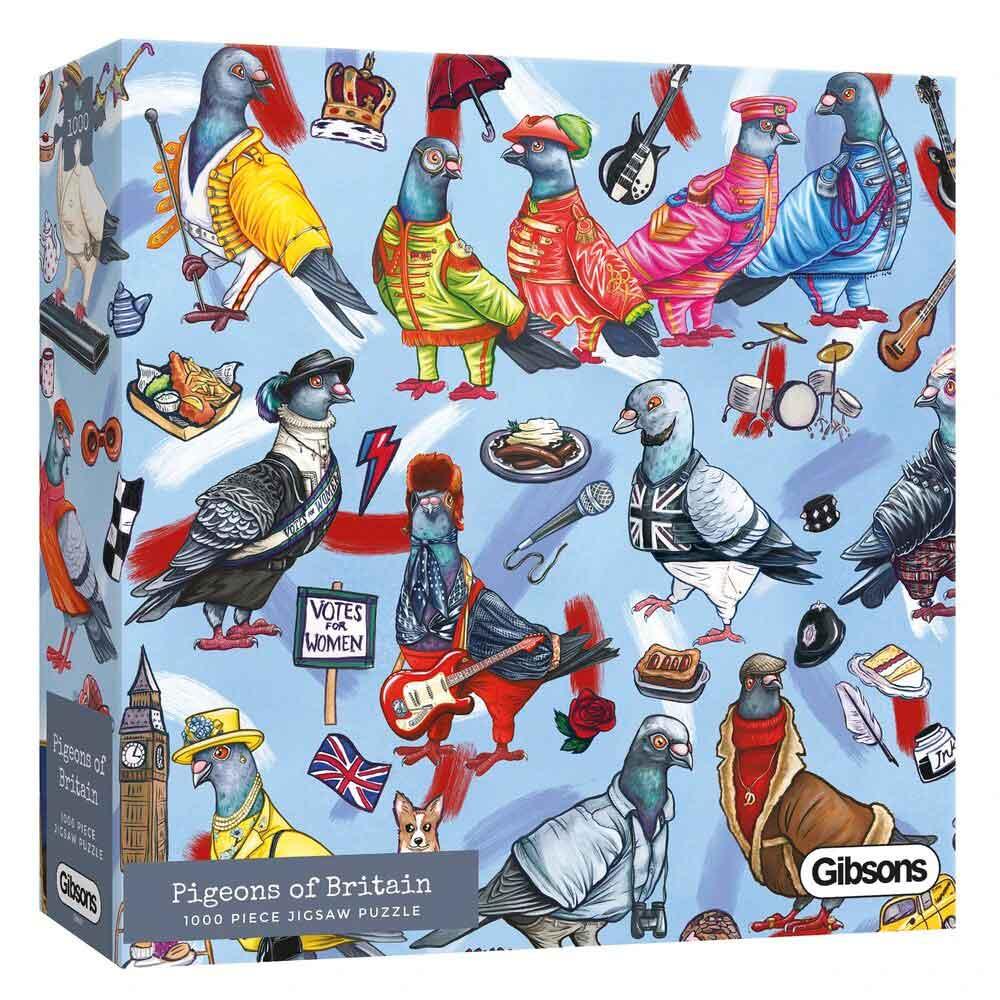 Puzzle Gibsons Palomas de Gran Bretaña de 1000 Piezas