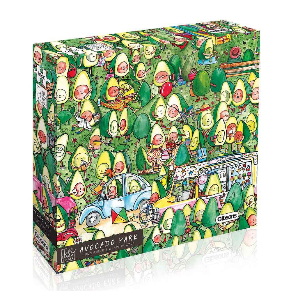 Puzzle Gibsons Parque del Aguacate de 1000 Piezas