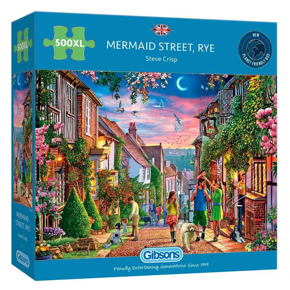 Puzzle Gibsons Paseando Por la Calle de la Sirena XXL de 500 Pzs