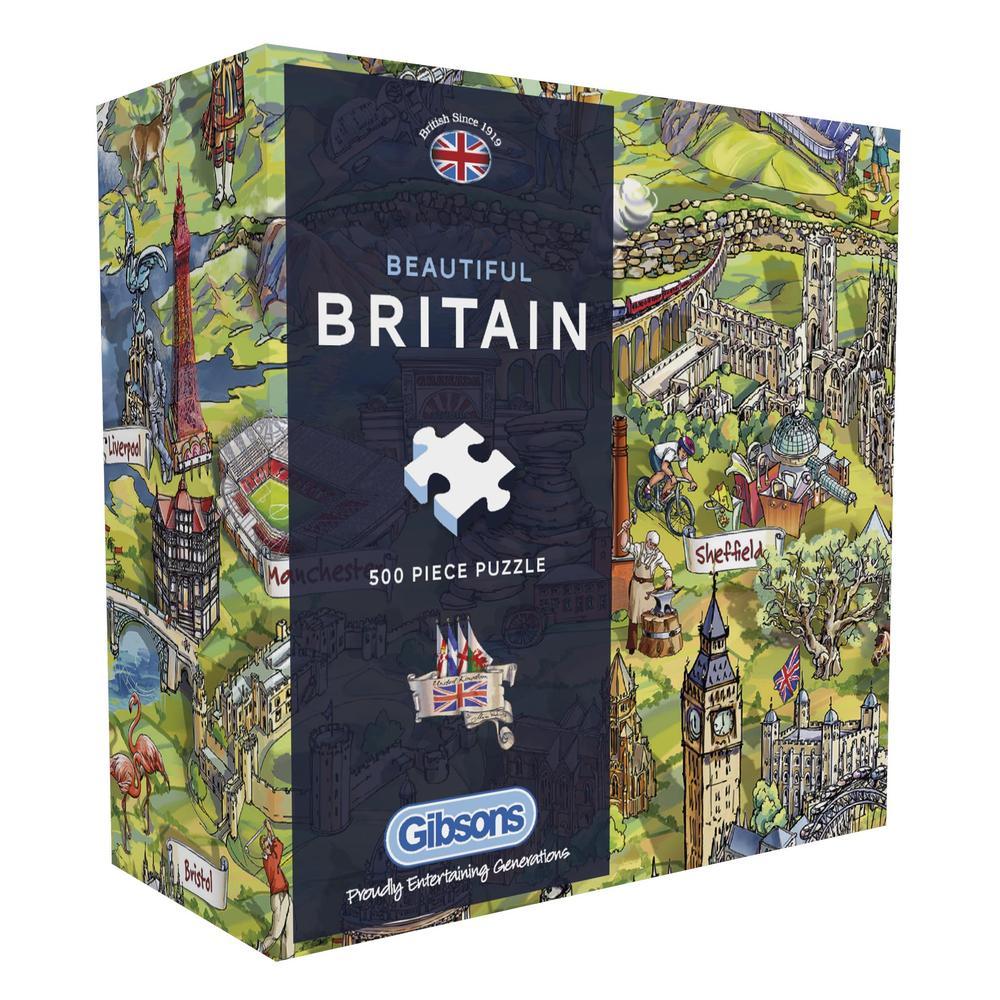 Puzzle Gibsons Preciosa Gran Bretaña de 500 Piezas