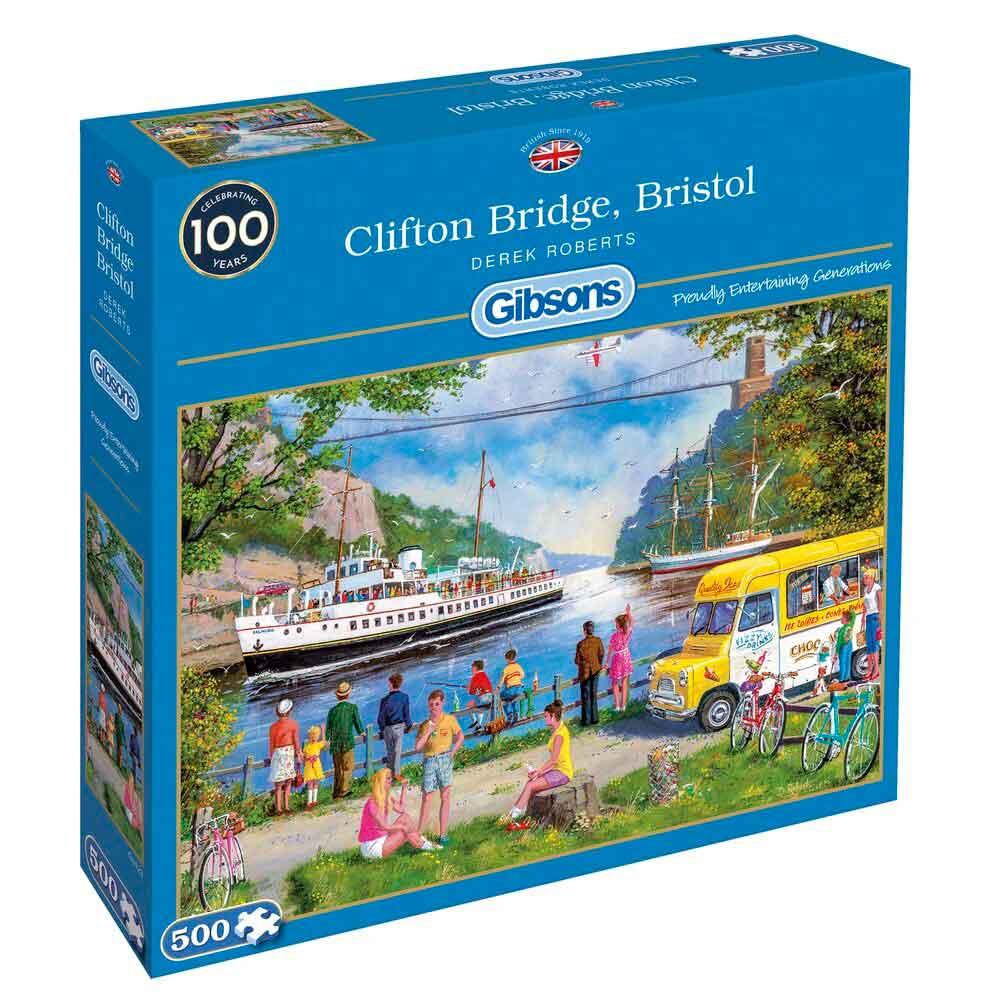 Puzzle Gibsons Puente de Clifton Bristol de 500 Piezas
