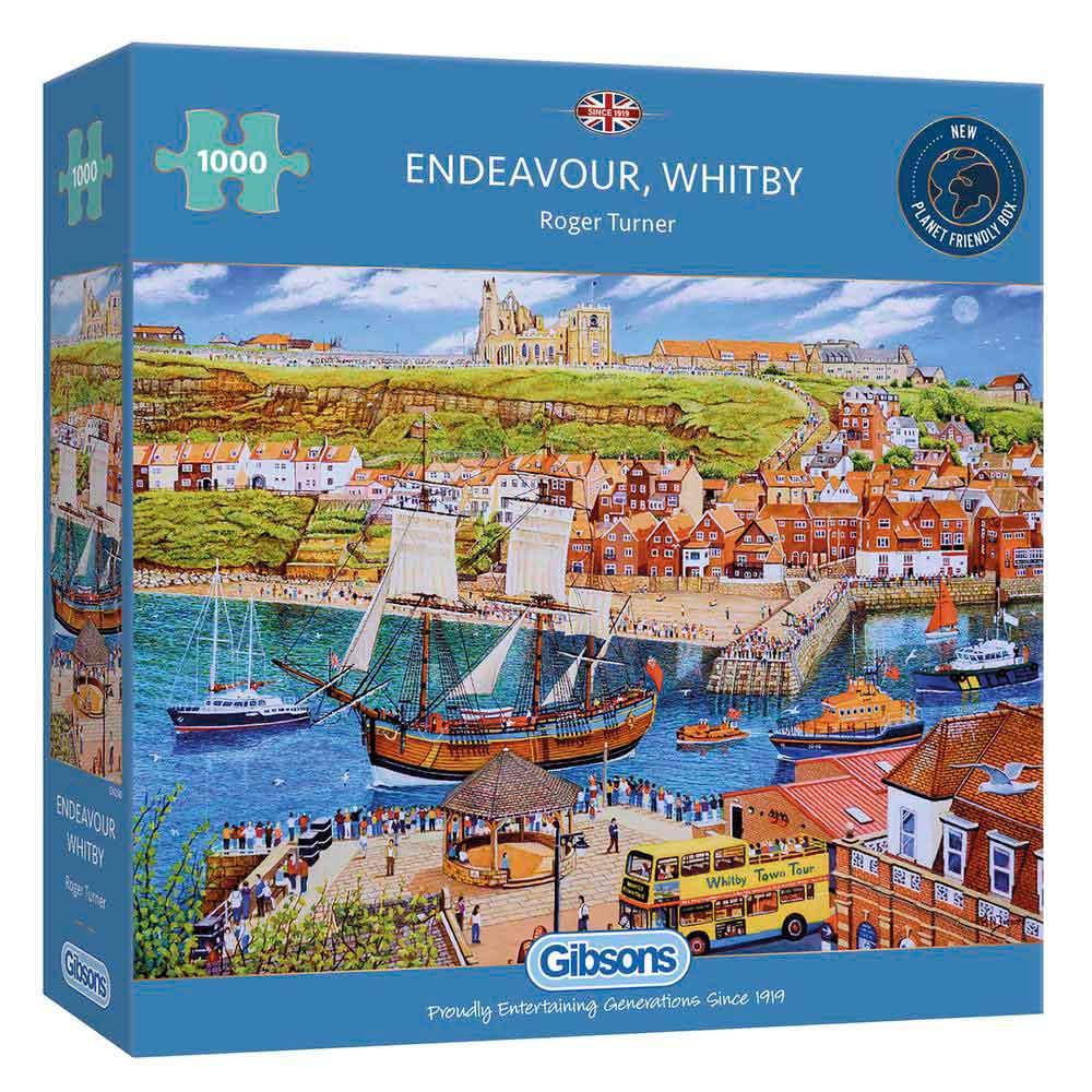 Puzzle Gibsons Puerto de Endeavour, Whitby de 1000 Piezas