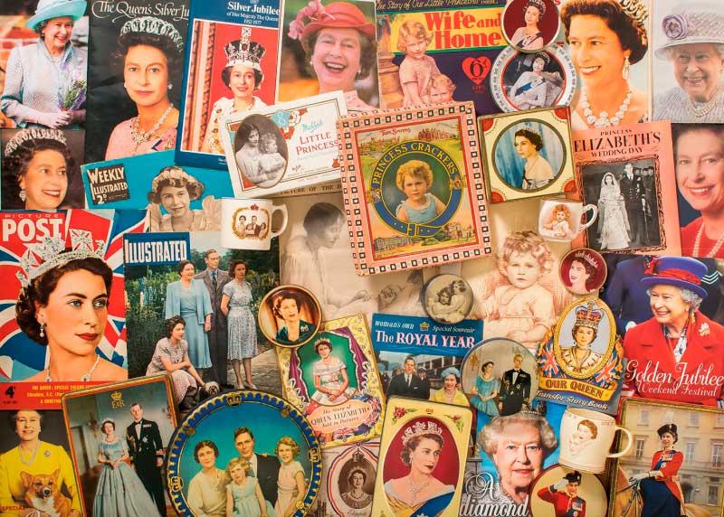 Puzzle Gibsons Reina Isabel II de 1000 Piezas