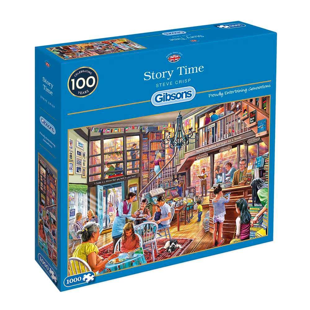 Puzzle Gibsons Tiempo para Historias de 1000 Piezas