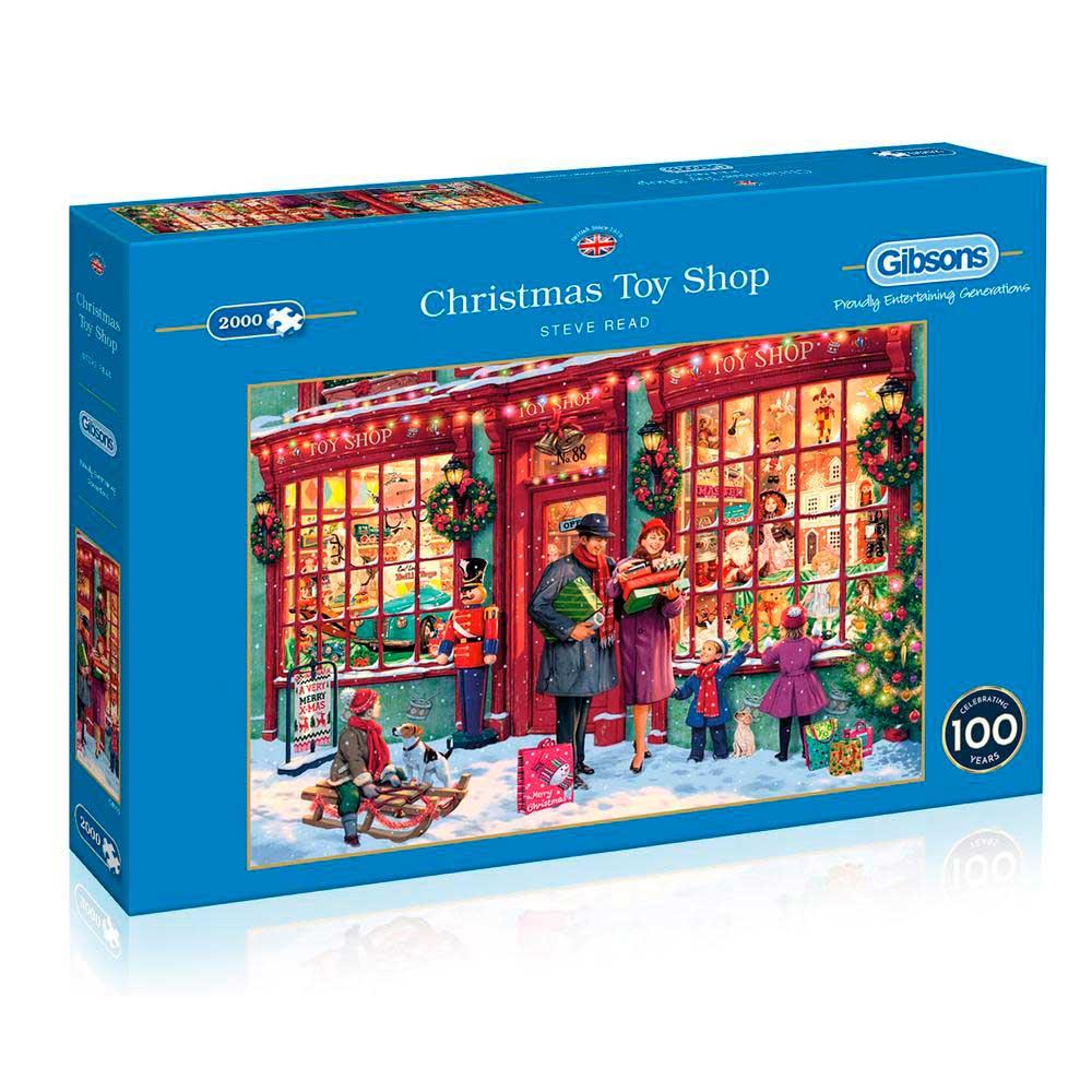 Puzzle Gibsons Tienda de Juguetes de Navidad de 2000 Piezas