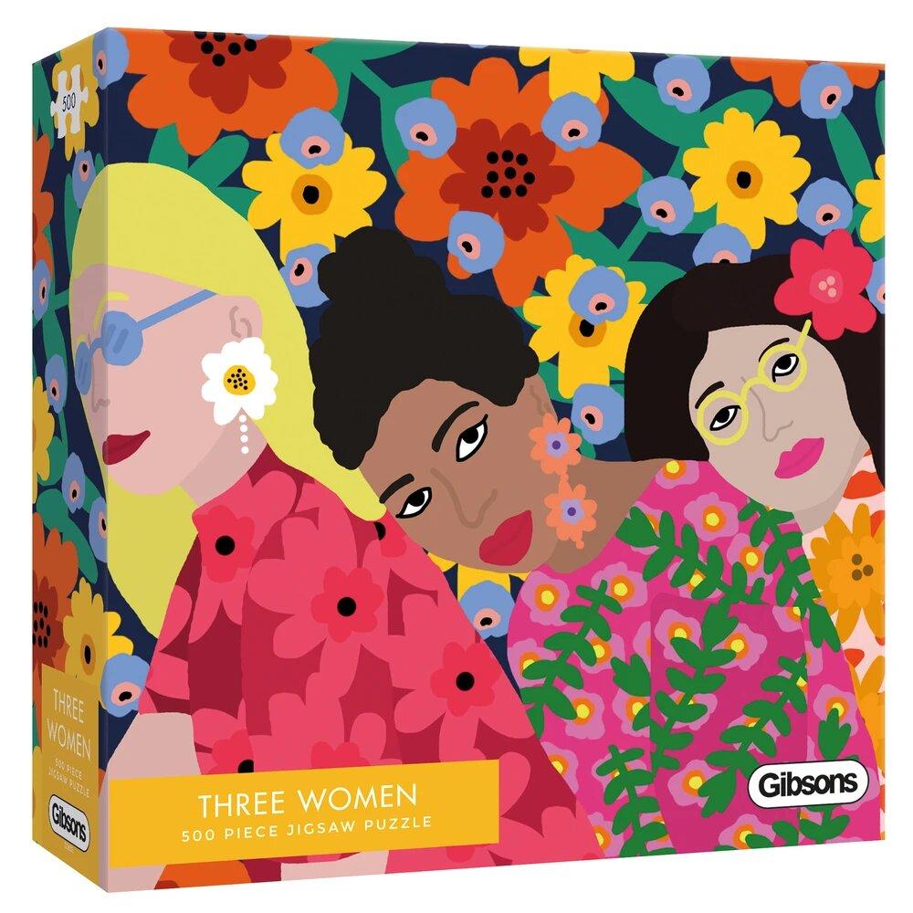 Puzzle Gibsons Tres Mujeres de 500 Piezas