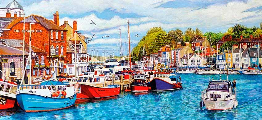 Puzzle Gibsons Weymouth de 636  Piezas
