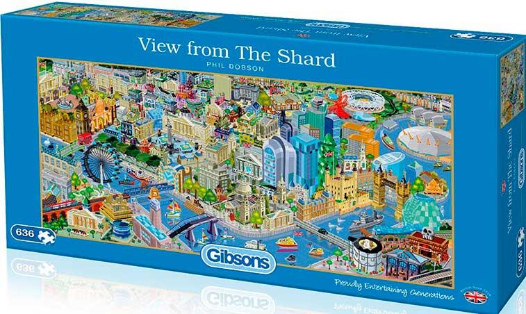 Puzzle Gibsons  Vista desde el Shard 636  Piezas