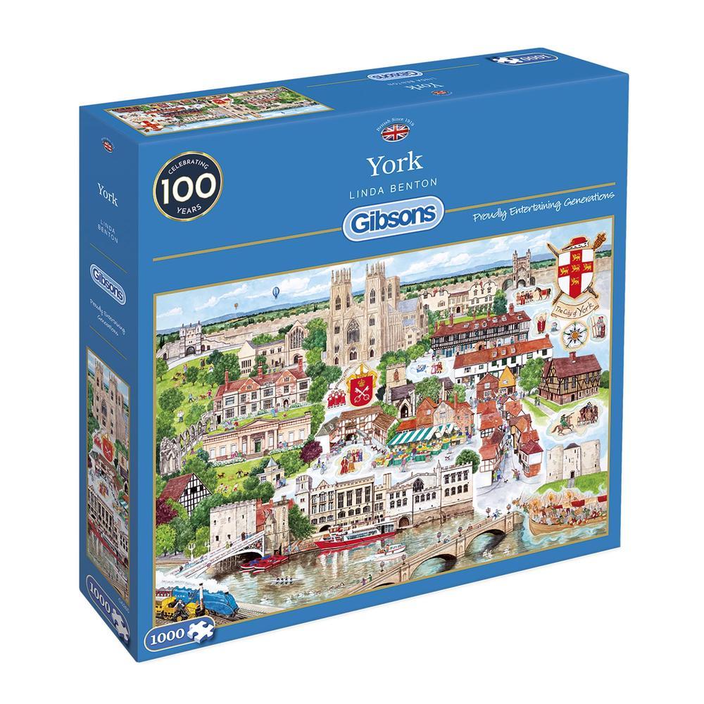 Puzzle Gibsons York de 1000 Piezas