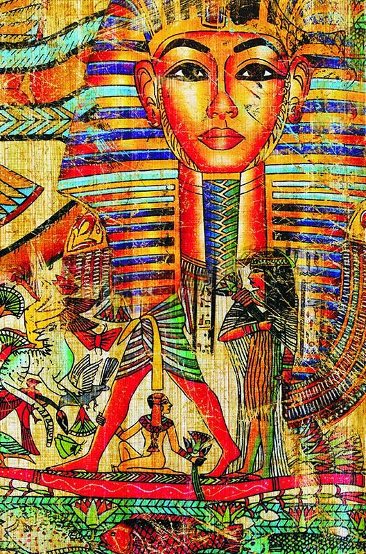 Puzzle Gold Antiguo Collage Egipcio de 500 Piezas