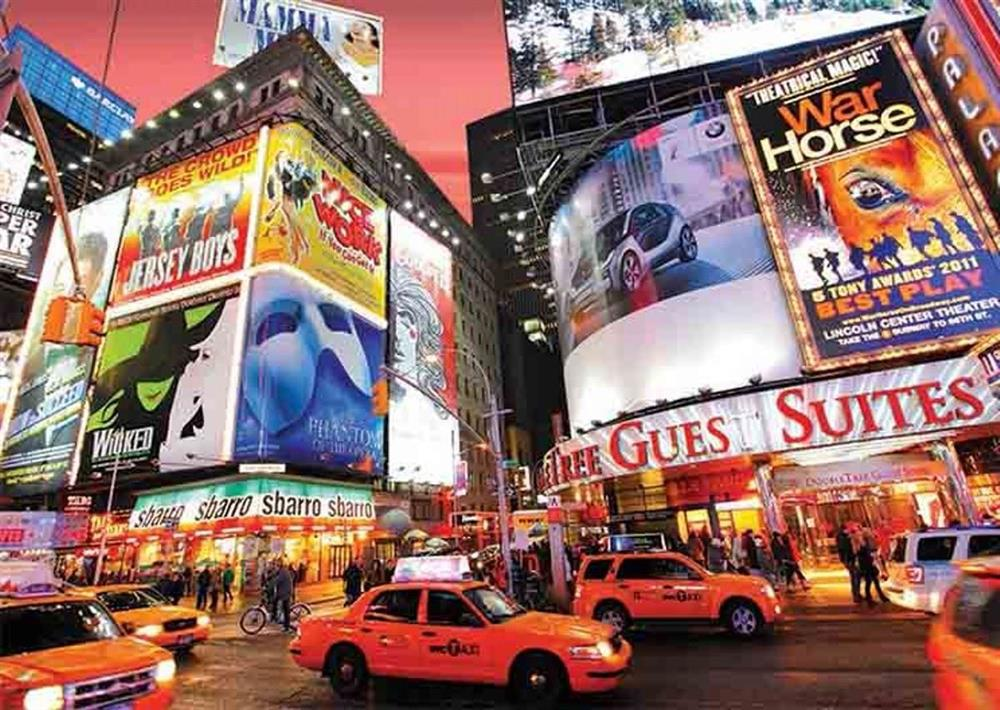 Puzzle Gold Broadway, Times Square, New York de 1500 Piezas