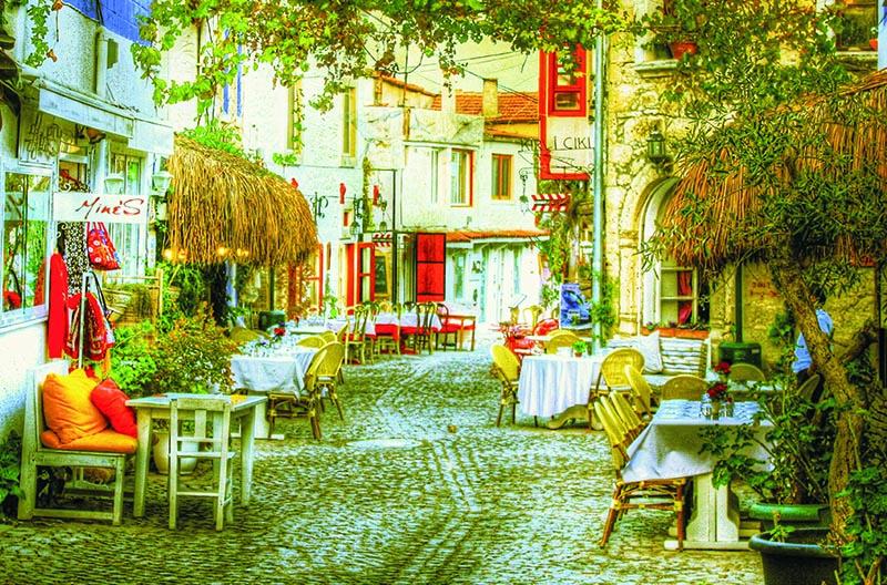 Puzzle Gold Calle de Turquía de 1000 Piezas