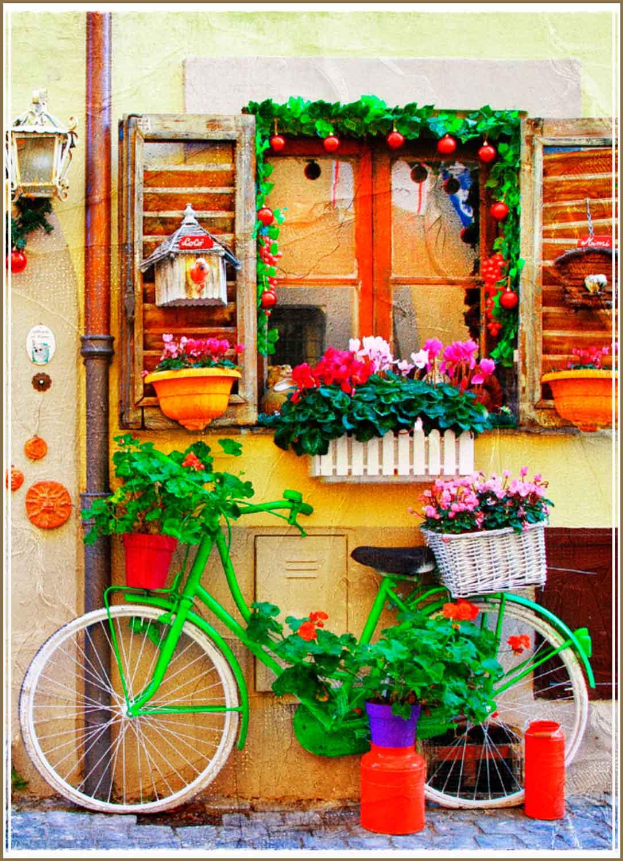 Puzzle Gold La Bicicleta de 500 Piezas