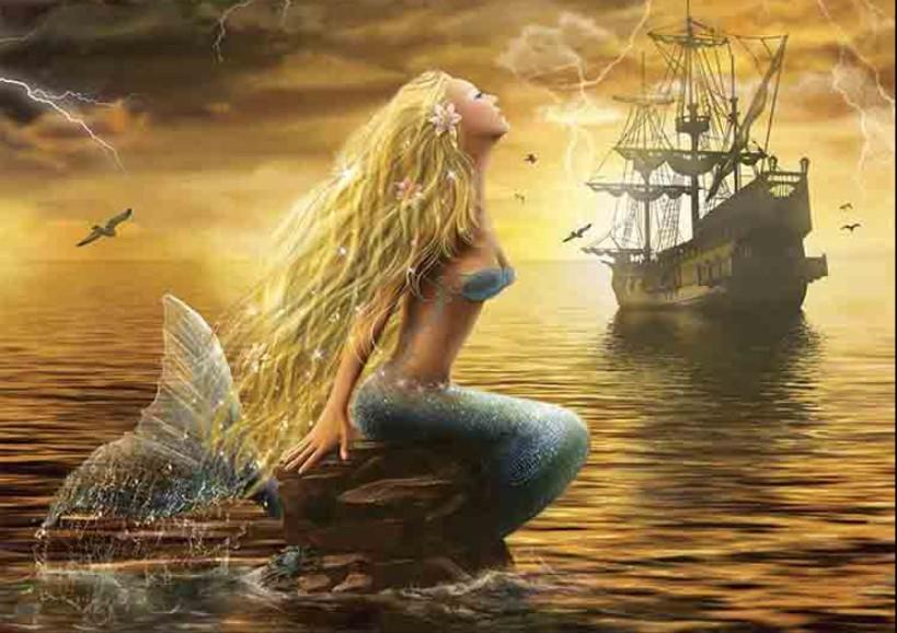 Puzzle Gold La Sirena de 1000 Piezas