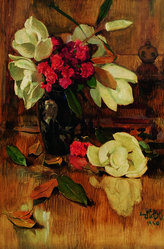 Puzzle Gold Magnolias y Claveles de 1000 Piezas