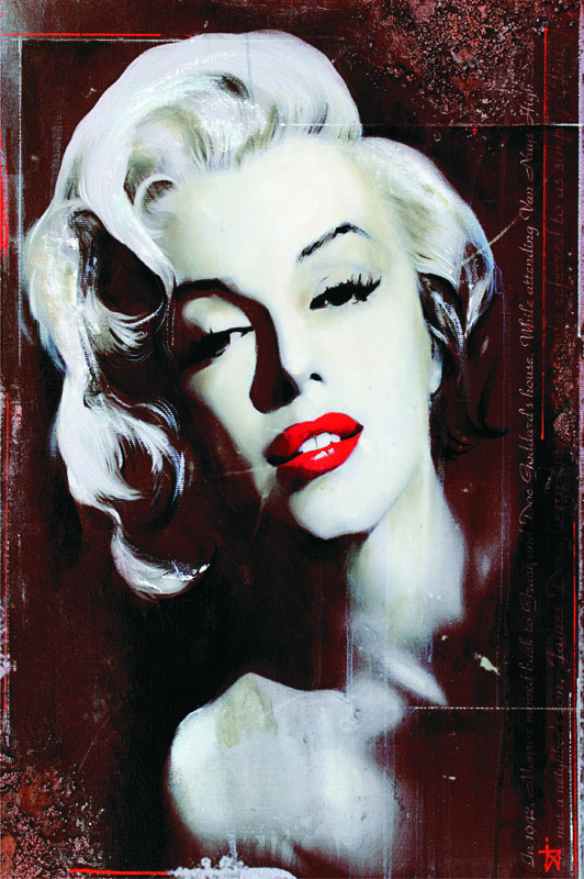 Puzzle Gold Nostalgia, Marilyn de 1000 Piezas