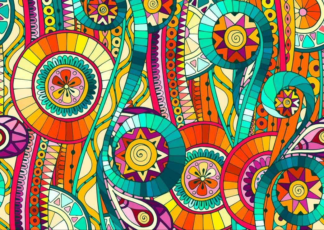 Puzzle Grafika Arte Abstracto de 2000 Piezas