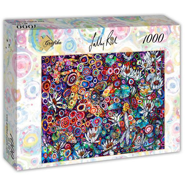 Puzzle Grafika Carpa Koi de 1000 Piezas