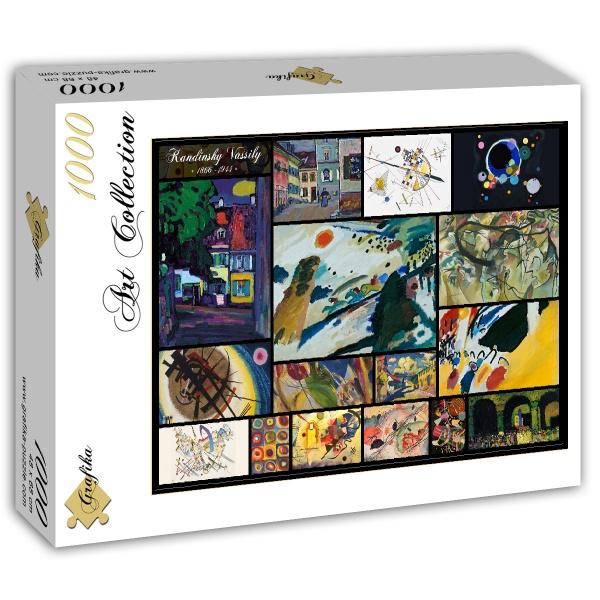 Puzzle Grafika Collage de Wassily Kandinsky de 1000 Piezas
