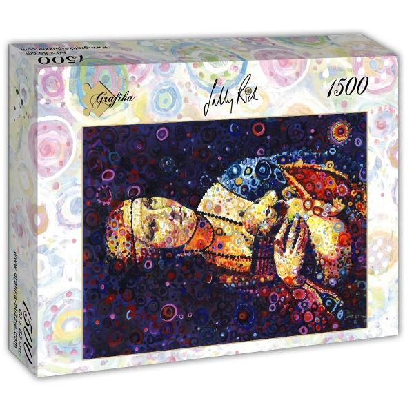 Puzzle Grafika Dama con Armiño (Da Vinci) de 1500 Piezas