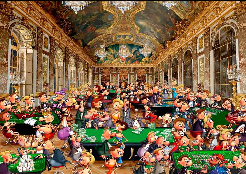 Puzzle Grafika El Casino de 2000 Piezas
