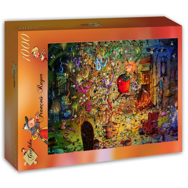 Puzzle Grafika La Bruja de 1000 Piezas