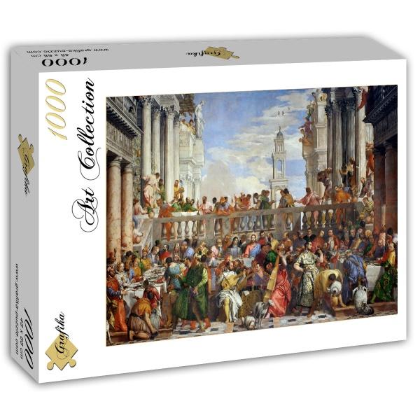 Puzzle Grafika Las Bodas de Caná de 1000 Piezas