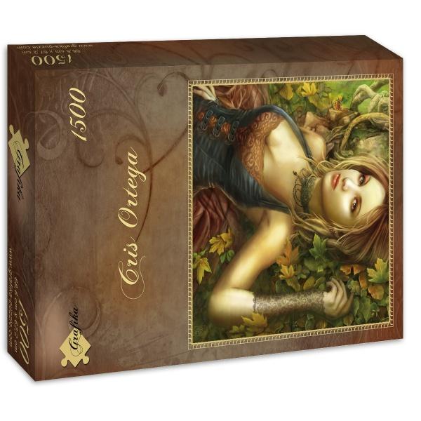 Puzzle Grafika Manto de Hojas de 1500 Piezas
