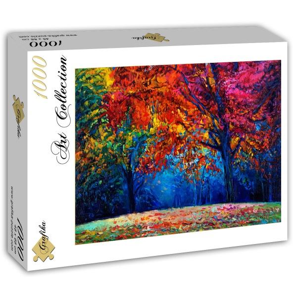 Puzzle Grafika Otoño en el Bosque de 1000 Piezas