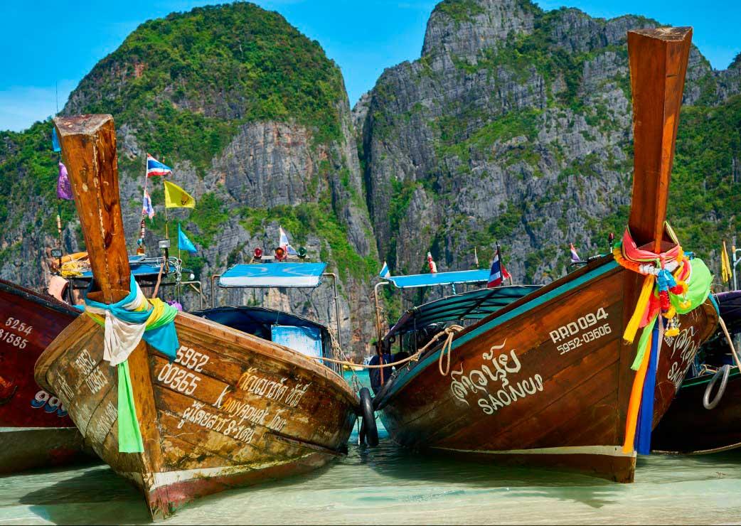 Puzzle Grafika Paraiso en Phuket de 1000 Piezas
