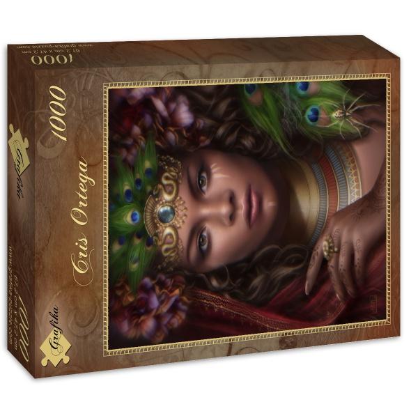 Puzzle Grafika Reina del Reino del Sol de 1000 Piezas