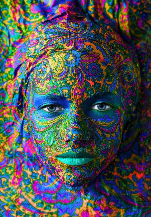Puzzle Grafika Retrato de Mujer de 3900 Piezas