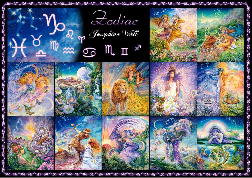 Puzzle Grafika Signos del Zodiaco de 1000 Piezas