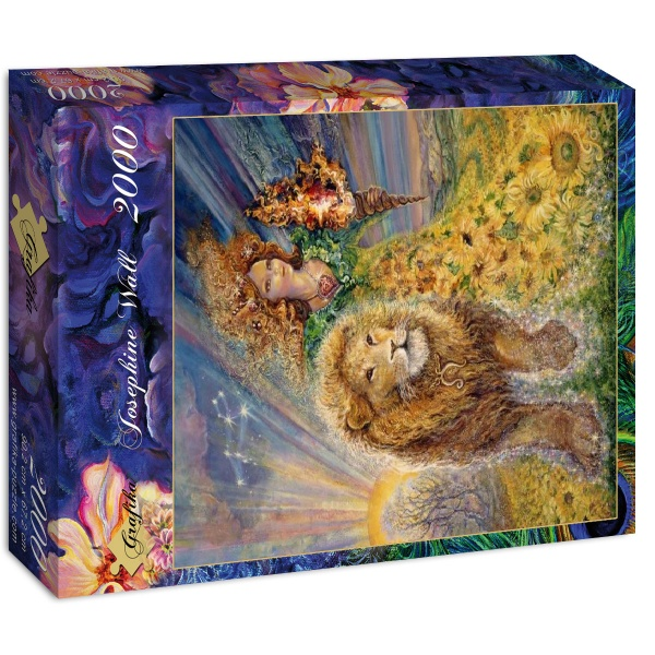 Puzzle Grafika Zodiaco Leo de 2000 Piezas