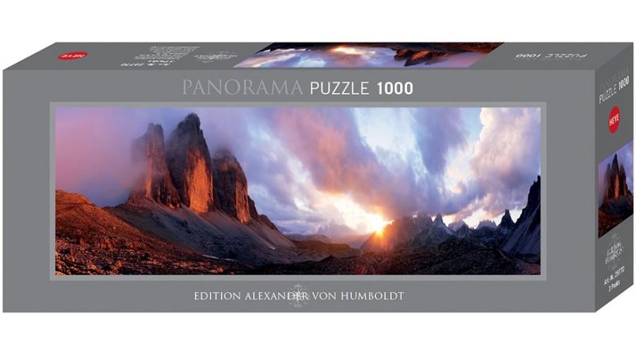 Puzzle Heye 3 Peaks de 1000 Piezas