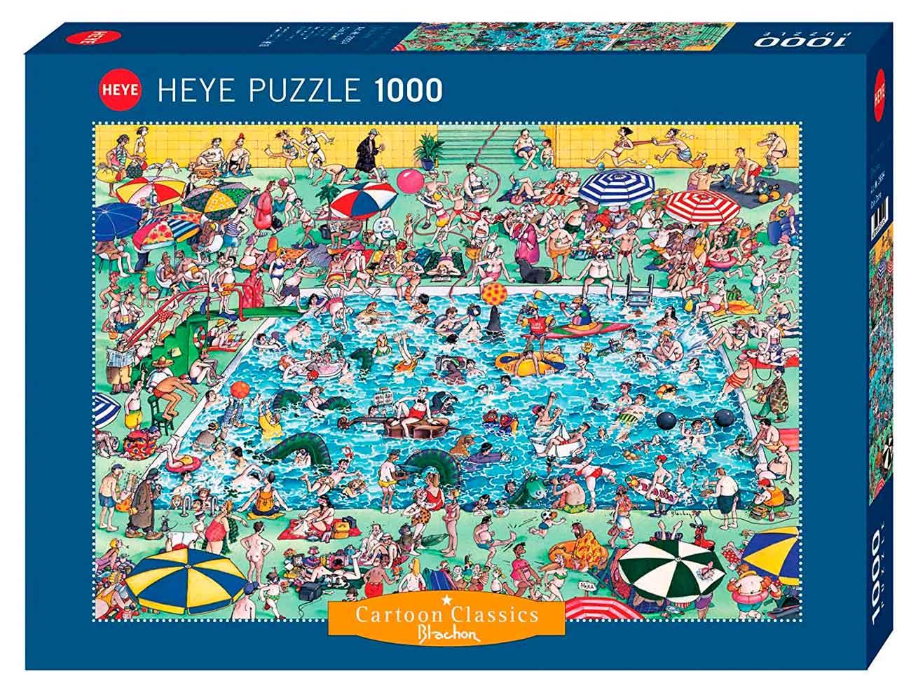 Puzzle Heye A Refrescarse! de 1000 Piezas