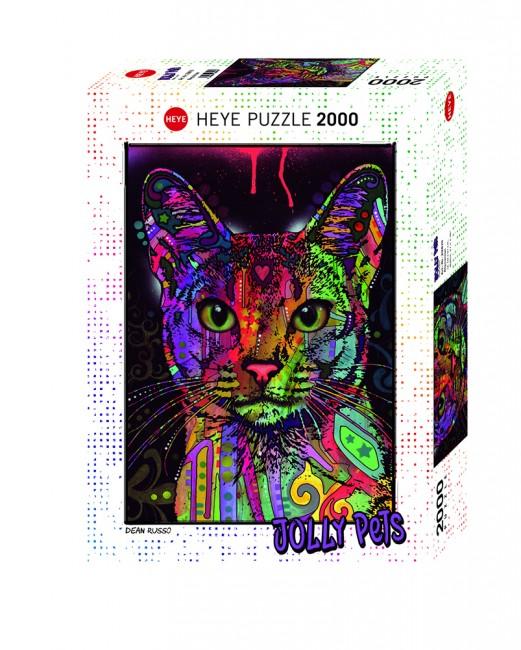 Puzzle Heye Jolly Pets, Abyssinian de 2000 Piezas