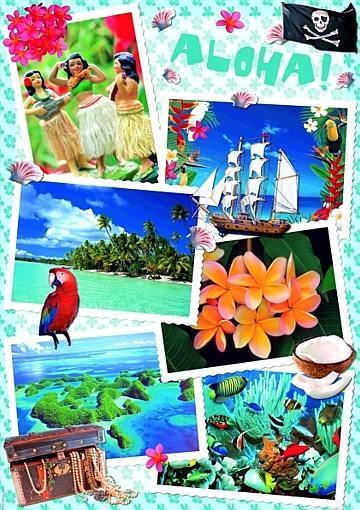 Puzzle Heye Aloha de 1000 Piezas