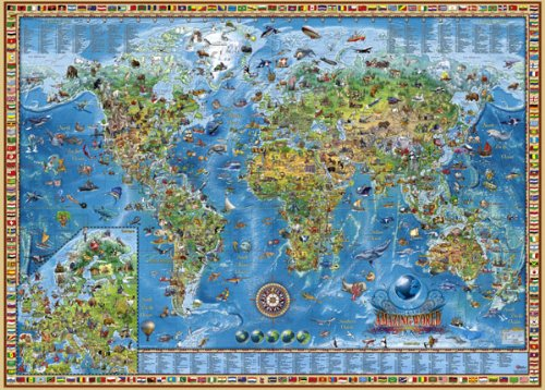 Puzzle Heye Amazing World de 3000 Piezas