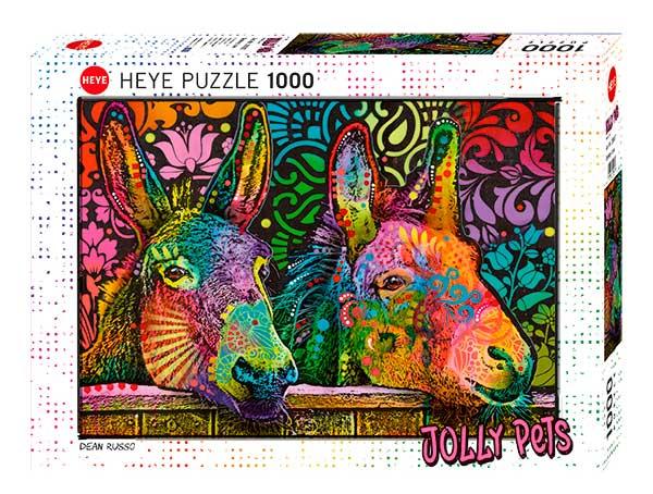 Puzzle Heye Amor Burro de 1000 Piezas