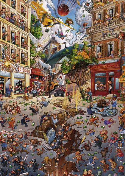 Puzzle Heye Apocalipsis de 2000 Piezas
