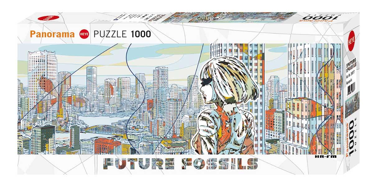 Puzzle Heye Aquapolis de 1000 Piezas