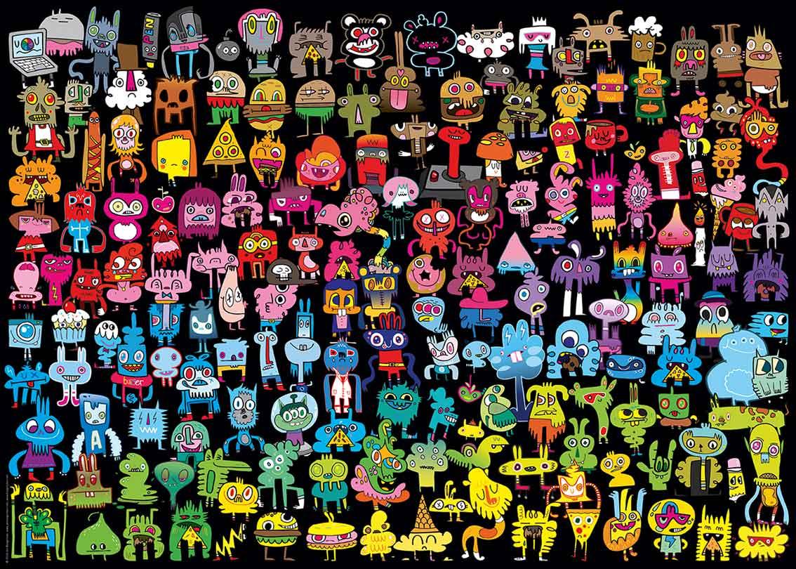 Puzzle Heye Arcoiris de 1000 Piezas