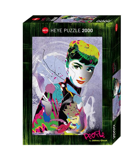 Puzzle Heye Audrey Hepburn de 2000 Piezas